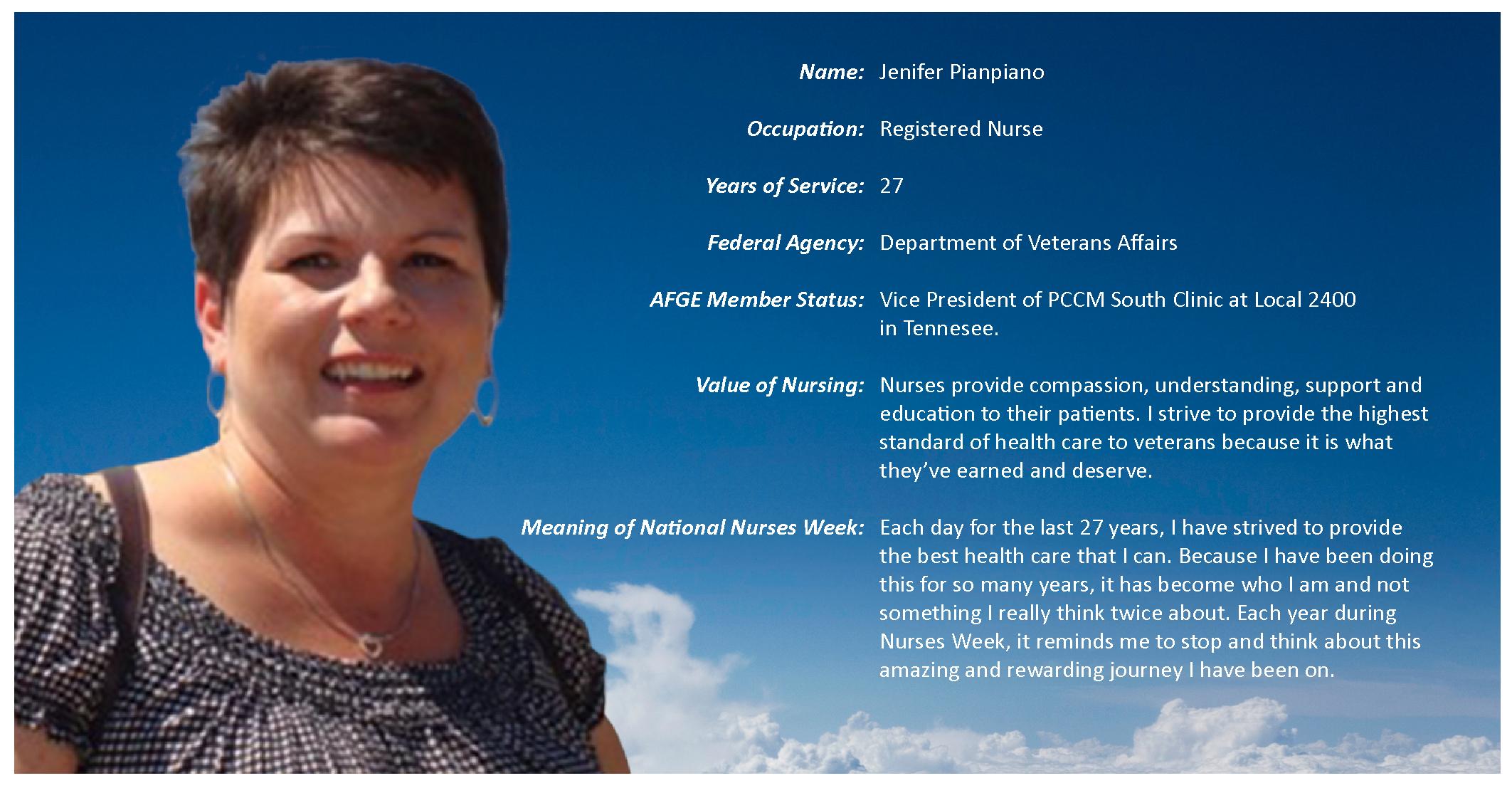 Celebrating National Nurses Week 2013 | AFGE Members Tell